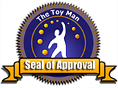 The first version of The Toy Man Seal of Approval
