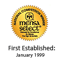 Mensa Awards Program